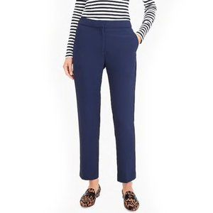 NWT J. Crew 365 Easy Pull-on Pant Navy Size 14
